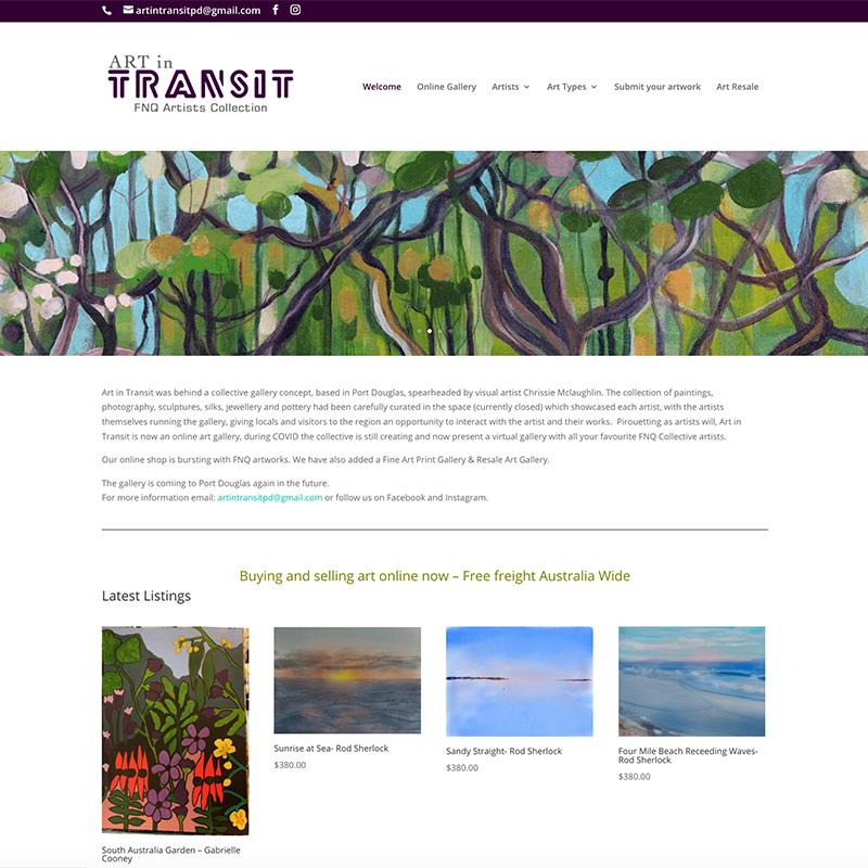 Art in Transit Gallery Port Douglas