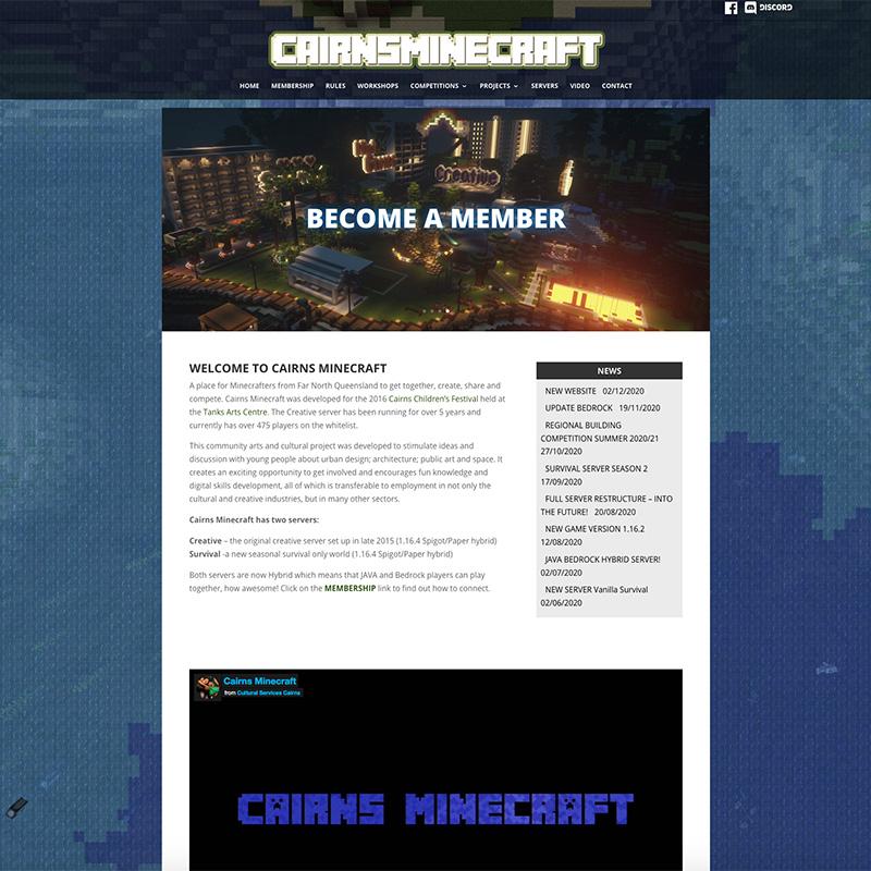 Cairns Minecraft