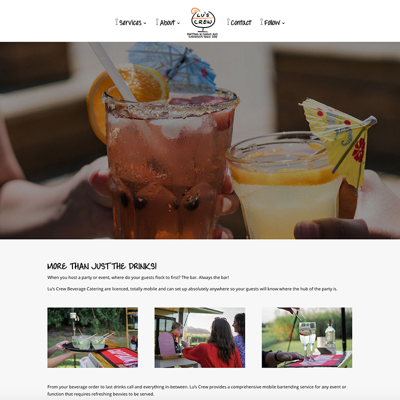 Crew Beverage Catering Cairns