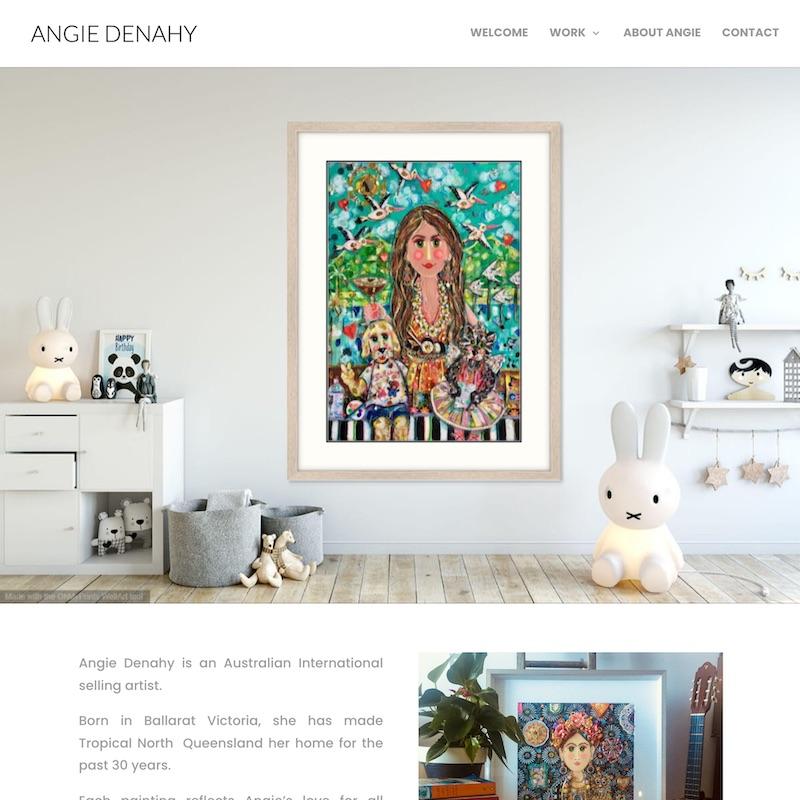 Angie Denahy Artist