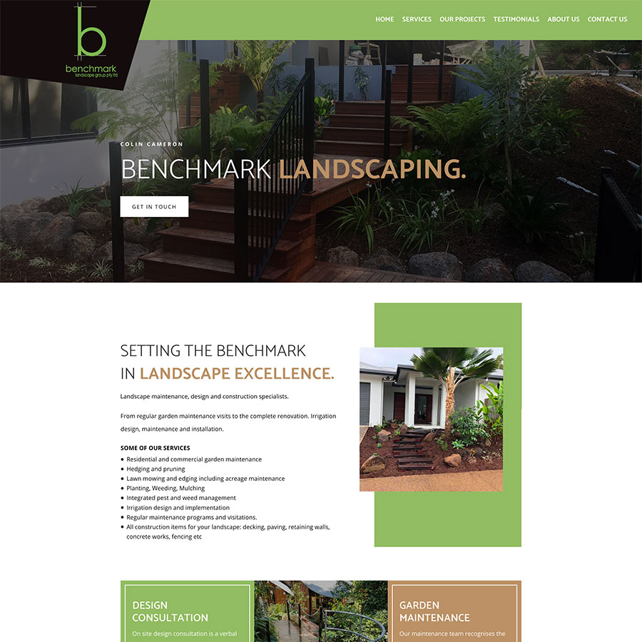 Benchmark Landscaping Cairns
